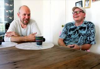 Björn Starrin och Göran