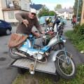 Trasig moped i Degerfors