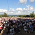 Vilken publik i Västra Ämtervik, Sillegården!