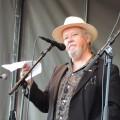 Poeten Bengt Berg hyllar Göran med nyskrivna rader